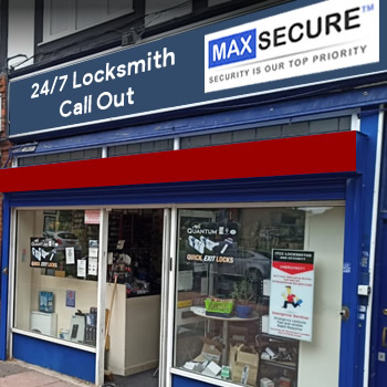 Locksmith store in Notting Hill